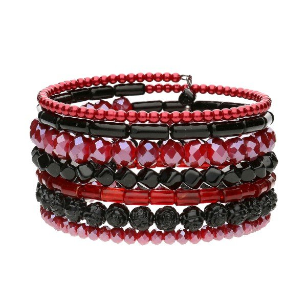 "Armband ""Red-Black"""